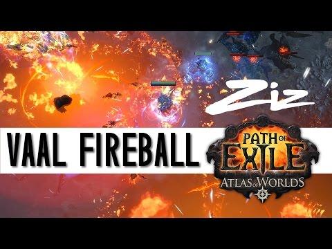 Path Of Exile Vaal Fireball Build