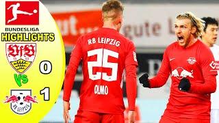 Vfb stuttgart vs rb leipzig 0-1 bundesliga i goal highlight match report 03/01/2021