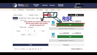 Secret trading binary.com, new strategy 2017 rise fall 5 tick $3000 profit in days
