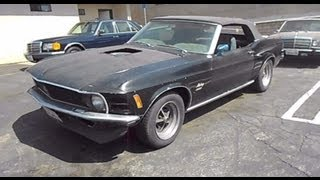 1970 Mustang Convertible Rare quick inspection !