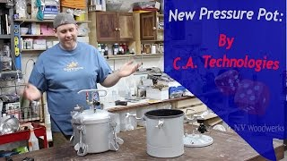C.A. Technologies Pressure Pot Feature Walkthrough & Comparison to Harbor Freight