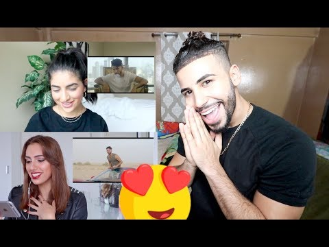REACTING TO ARAB GIRLS REACTING TO WAYNAK MUSIC VIDEO!!!