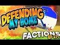 Minecraft Factions #271 - DEMONS FOUND ME!  (Minecraft Raiding)