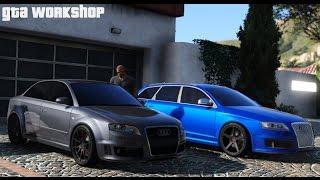 GTA 5 MOD |  Audi RS6 C6 (2009) vs Audi RS4 B7 (2007)  | PC - 60 FPS