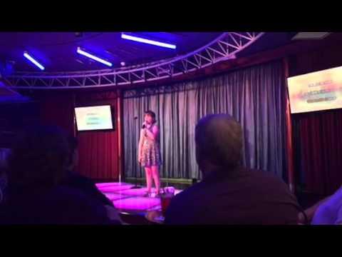 Kayleigh M Karaoke on Royal Caribbean