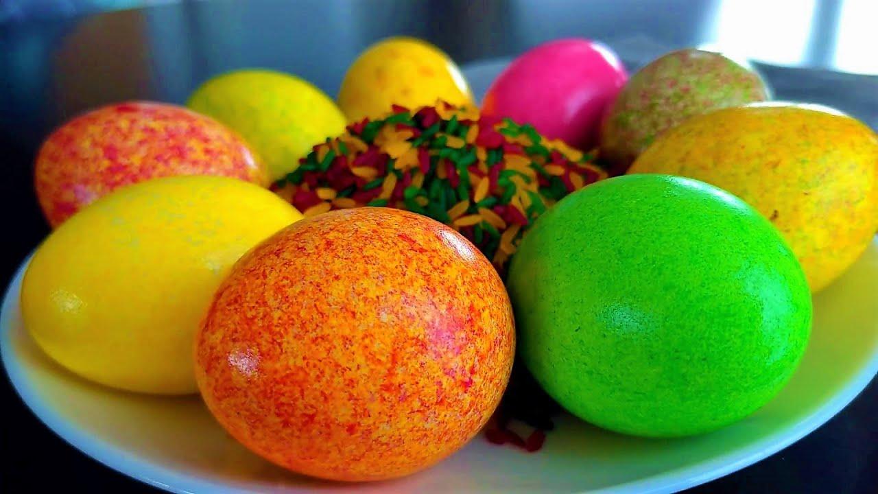 Как быстро и оригинально покрасить яйца на ПАСХУ 2021!