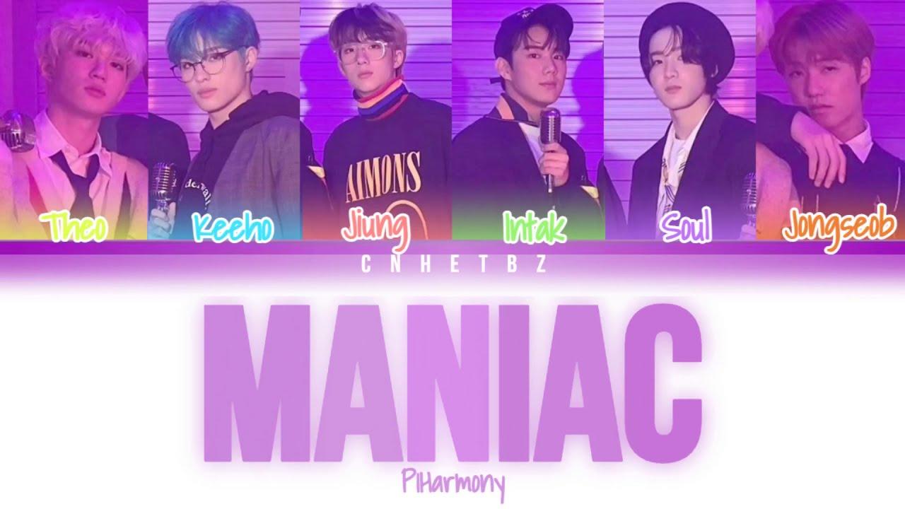 "Download P1Harmony - ""Maniac"" (Original song by Conan Gray) Color Coded Lyrics (Han/Rom/Eng)"