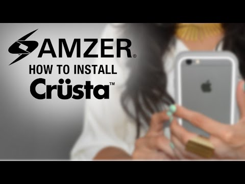 Amzer® Crusta™ Rugged Case Install for iPhone 6