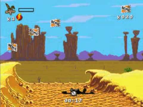 Kega Fusion- Desert Demolition- la poursuite infernale la plus loufoque!- Megadrive