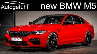 Gambar cover New BMW M5 Competition Facelift update 2021 2020 Exterior Interior