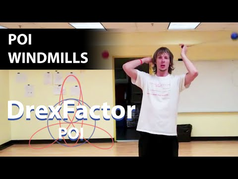 Beginner Poi Tutorial: Windmills
