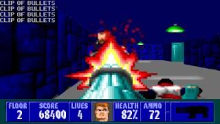 Wolfenstein 3D - Episode 4, Floor 2