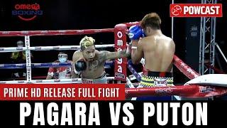 Albert Pagara vs Virgil Puton Boxing Full Fight    The Comeback   Prime High Definition Release