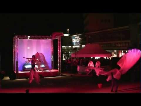 Grandiose Eröffnung des STAMP Festivals 2012 in Hamburg mit Theater AKT aus Warschau