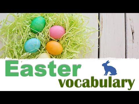 Как выучить английский. Пасха. Easter vocabulary.