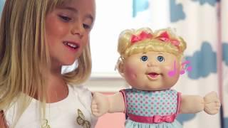 Cabbage Patch Kids Babble /'n/' Chanter Deluxe Toddler Noël Filles NOUVEAU