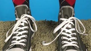 فيديو  أسرع طريقة لربط الأحذية