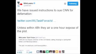 WIKILEAKS THREATENS CNN over fake news - CNN is FORCED to apologize