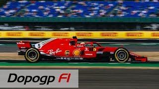 F1, GP Silverstone 2018: Vettel vince a casa di Hamilton e della Mercedes