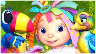 رسوم متحركة للاطفال | الدنيا روزي | الطيور الأشجار والطبيعة للأطفال | قناة براعم | Spacetoon