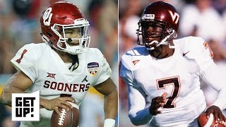 Kyler Murray is the most explosive QB in the NFL draft since Michael Vick - Todd McShay | Get Up!