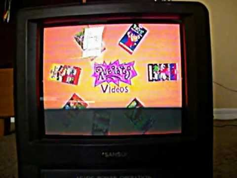 Rugrats Videos! VHS Promo 1999-2001