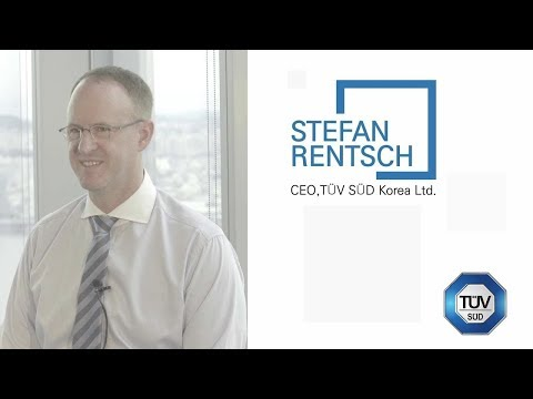 [Invest Seoul CEO Interview] Stefan Rentsch, TUV SUD KOREA