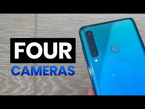 Samsung Galaxy A9 (2018) with FOUR cameras