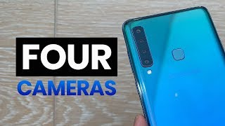 Samsung Galaxy A9 (2018) with FOUR cameras