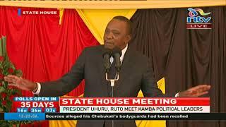 President Uhuru Kenyatta dares the opposition to boycott polls