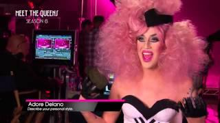 RuPaul's Drag Race Season 6   Meet the Queens Adore Delano thumbnail
