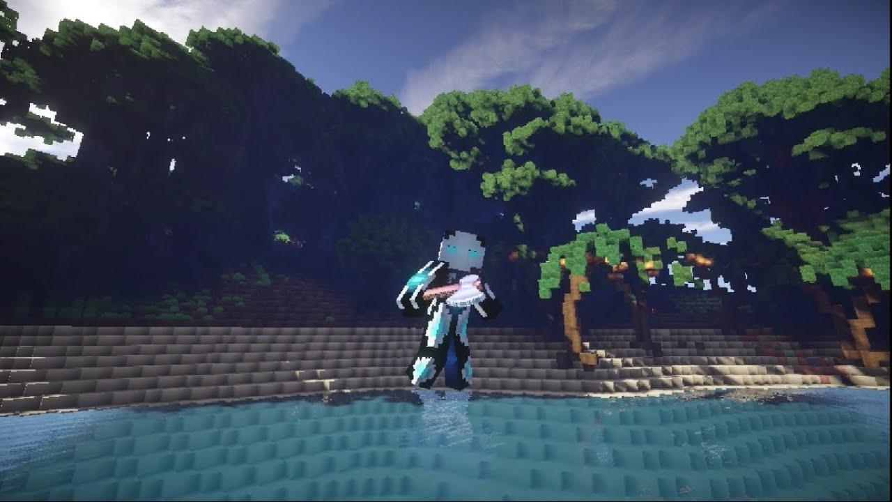 Minecraft Tropical Island: Fantasy Tropical Island Terrain
