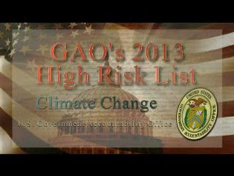 GAO: High Risk: Climate Change