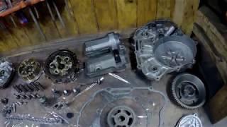 ПРОДОЛЖЕНИЕ ! YAMAHA TTR 250 RAID / Большое техническое обслуживание / Серия 7
