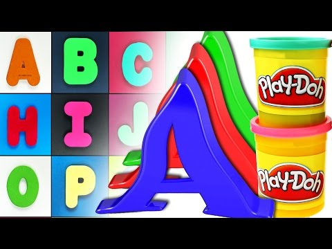1Hour of abc songs, Wooden & Squishy puzzles, Playdoh, Find the missing Alphabet. Let's play kids.