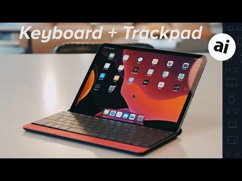 This iPad Pro keyboard has a trackpad! - Mokibo