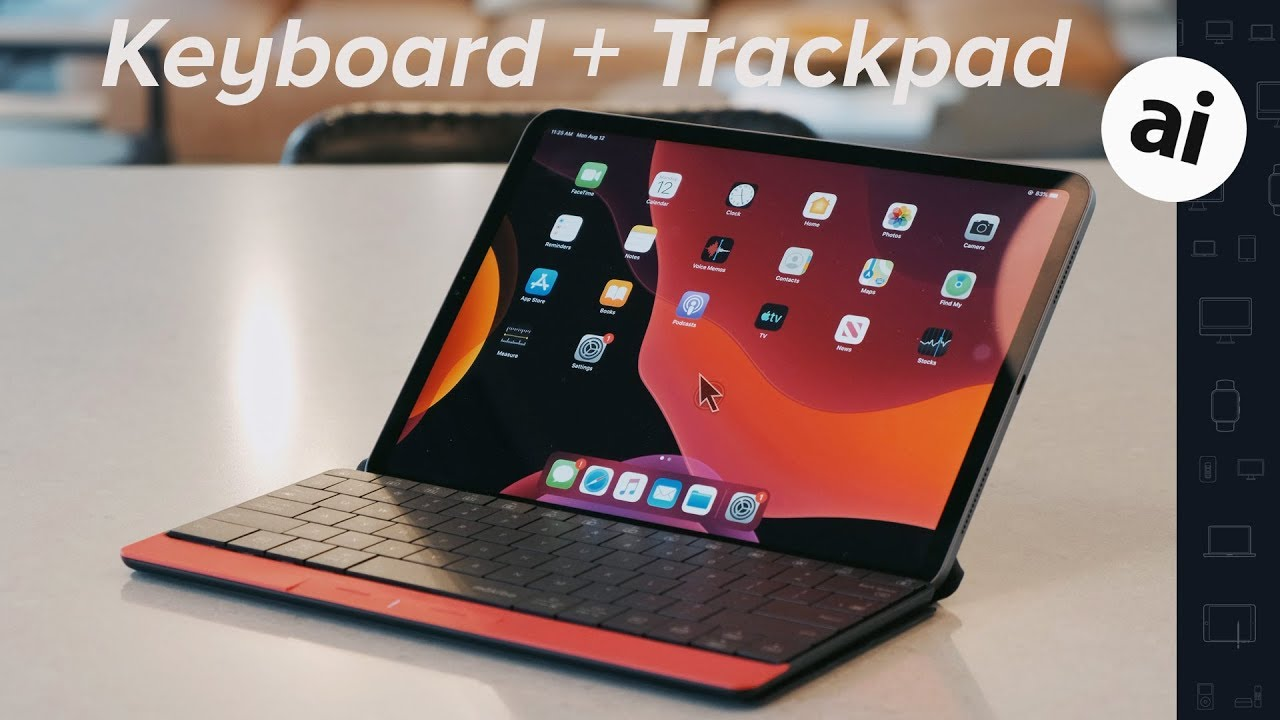 This iPad Pro keyboard has a trackpad! – Mokibo