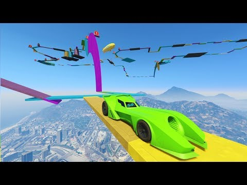 SUPER PARKOUR! 100% IMPOSIBLE!! - CARRERA GTA V ONLINE - GTA 5 ONLINE