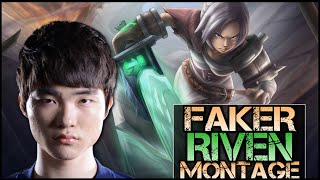 Faker Montage - Best Riven Plays