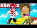 الهروب من الرجل الجائع في لعبة روبلوكس | ROBLOX