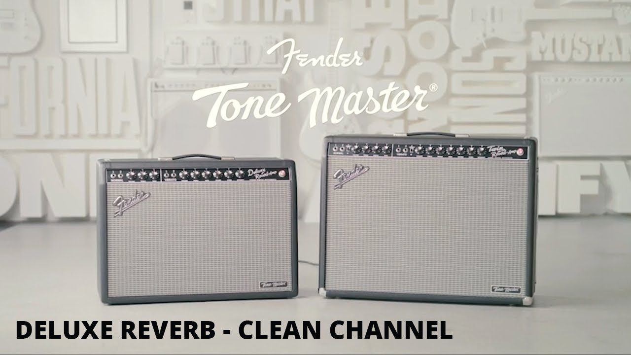 Tone Master Deluxe Reverb | Clean Channel