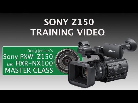Doug Jensen's Sony PXW-Z150 and HXR-NX100 Tutorial Video