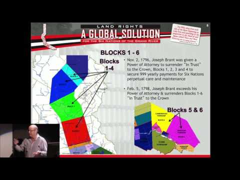 Phil Monture, A Global Solution For The Six Nations Of The Grand River,