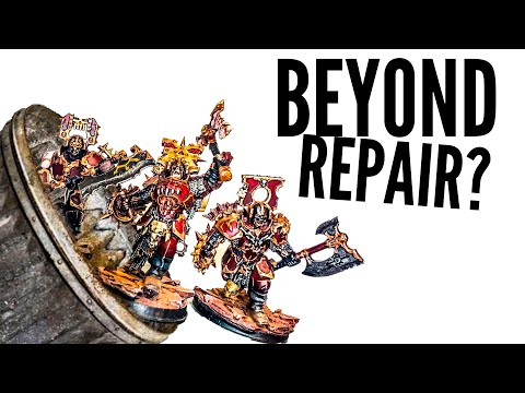 BEYOND REPAIR? Rescuing Blood Warriors