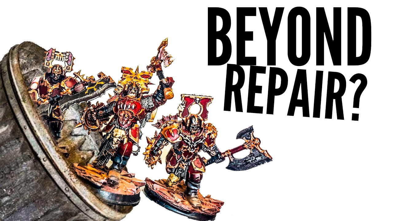 BEYOND REPAIR? Rescuing Blood Warriors