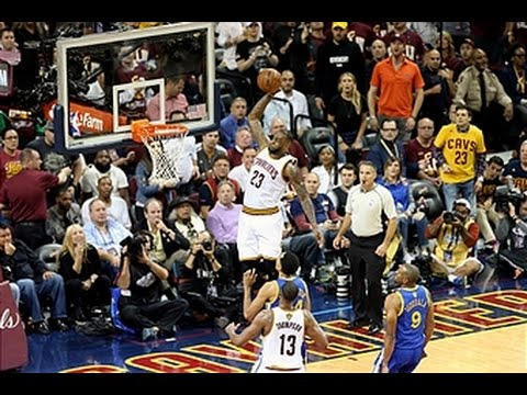 LeBron James' Huge Game 3 Alley-Oop From 21 Different ...