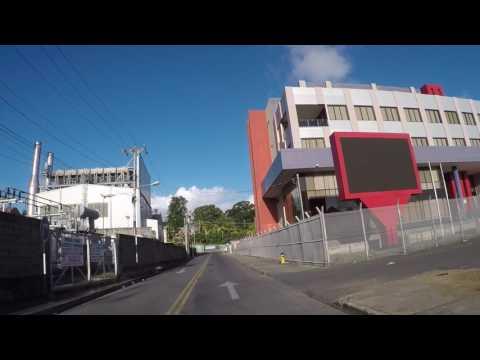 Trinité et Tobago Tobago Scarborough, Centre ville, Gopro / Trinidad and Tobago Scarborough City