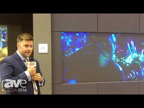 CEDIA 2016: Barco Residential Demos Rear Projection for Residential Applications