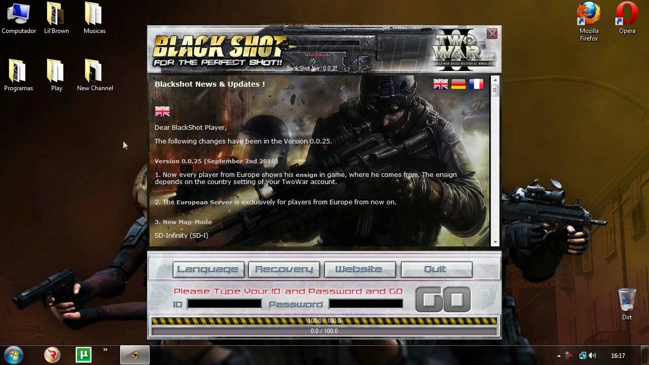 BlackShot SG Setup V003105
