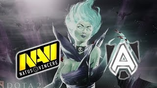 Na`Vi vs Alliance - Game 2 [WePlay Dota 2 League Grand Finals]